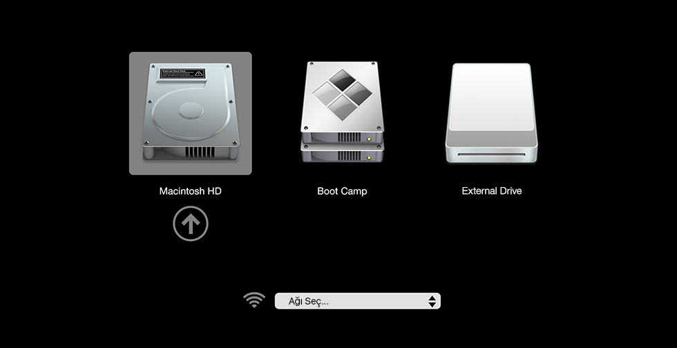 Macbook Pro Elmada logosunda takılı kalıyor